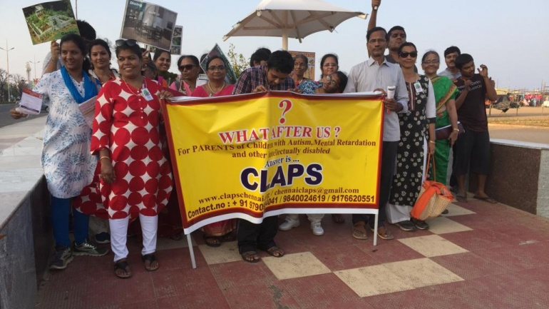 CLAPS – Women's Day Celebrations (8 March 2019 – Besant Nagar Beach, Chennai)