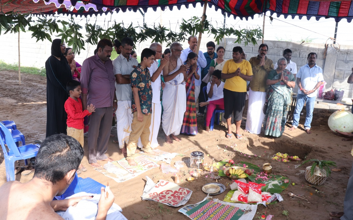 CLAPS – Project Bhumi Puja